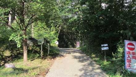 赤川温泉への道 1