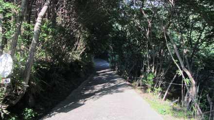 赤川温泉への道 3