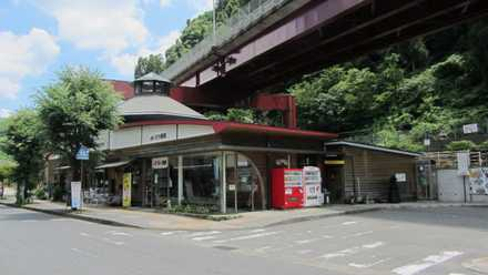天ケ瀬駅前