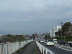 善波峠から富士山見えません。