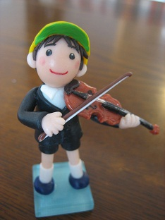 バイオリン人形3