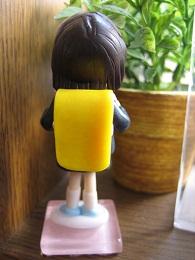 ピンクランドセル人形3