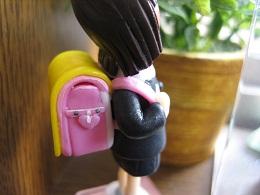 ピンクランドセル人形4