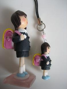 ランドセル人形&ストラップ