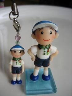 体操服人形&ストラップ