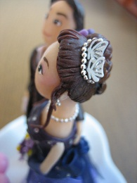 紫髪飾り2