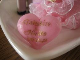 ウェディング人形ピンク3