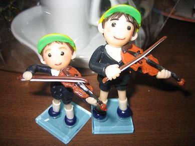 バイオリンきょうだい
