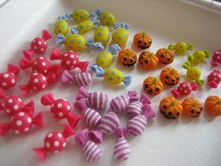 キャンディ&かぼちゃパーツ