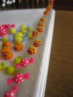 かぼちゃまち針