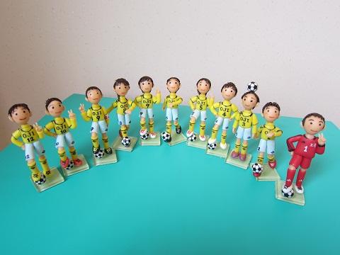 サッカーチーム完成2