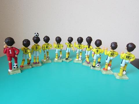 サッカーチーム完成3