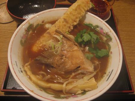 新春鯛の赤味噌ラーどん