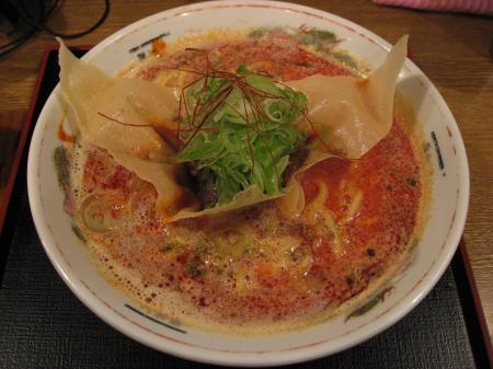 ぼっかけのせトリプル白!!坦坦麺