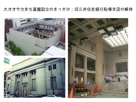 旧三井住友銀行船場支店の解体