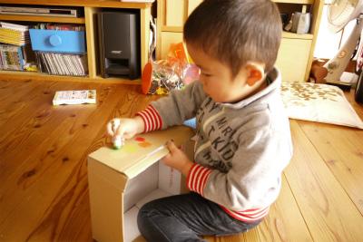 クリスマスケーキの箱