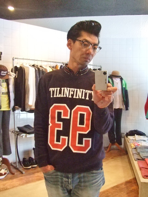 MDY 93 TILLINFINITY CREW NECK SWEAT ST