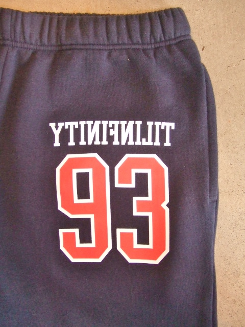 MDY 93TILINFINITY SWEAT PANTS NAVY FT
