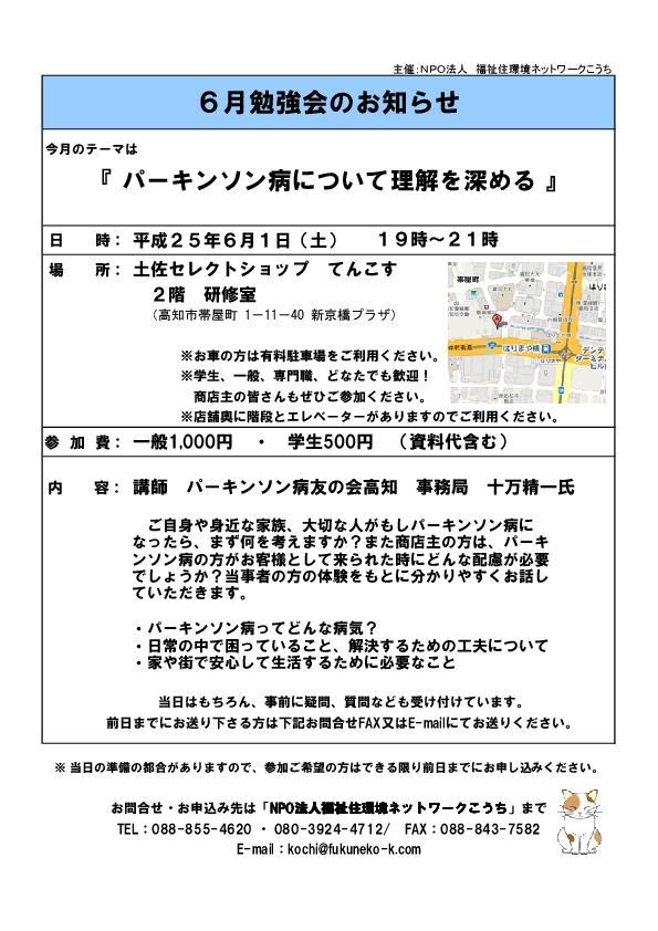 ふくねこ研修会案内201306
