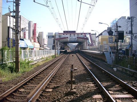 相鉄の上星川駅I