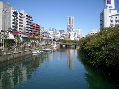 大岡川の黄金橋F
