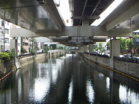 堀川の前田橋 H