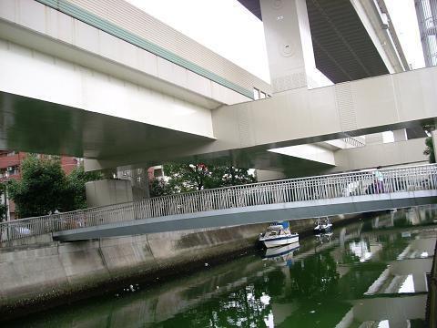 中村川の万世橋A