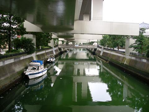 中村川の万世橋D