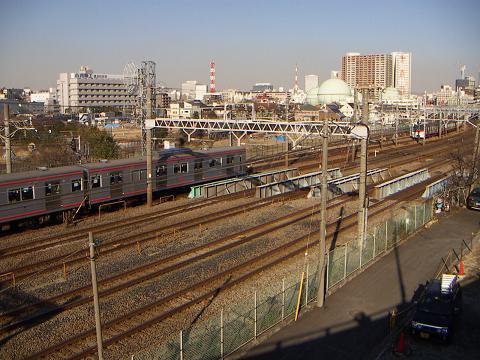 石崎川の相鉄・JRの鉄橋 A
