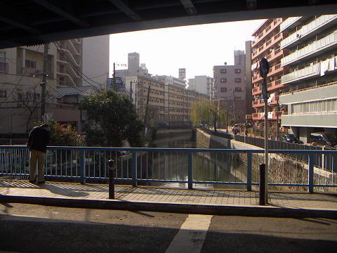 石崎川の扇田橋 D