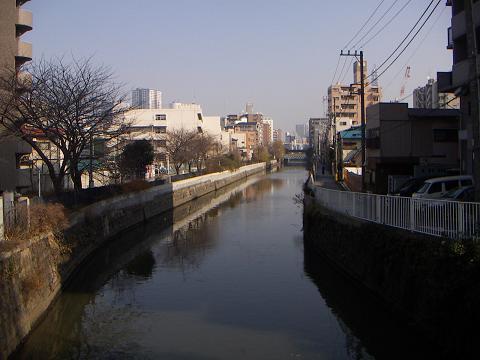 石崎川の扇田橋 G