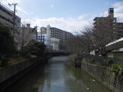 石崎川の高島橋 D
