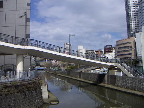 石崎川の高島橋 E