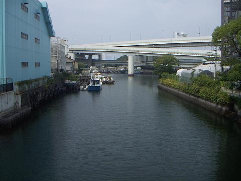 新山下運河の霞橋 D