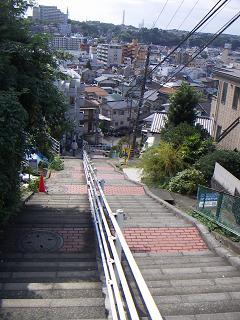 レンガ坂からの眺め B