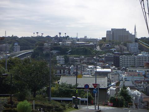 レンガ坂からの眺め C