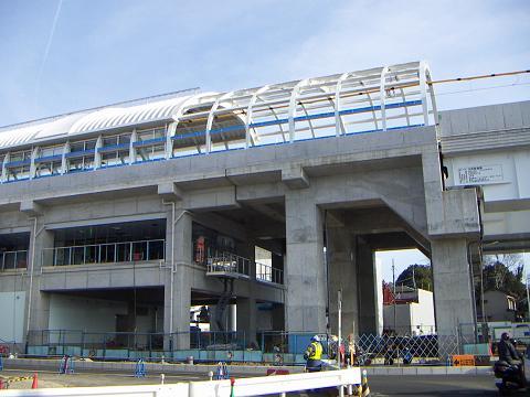 横浜市営地下鉄グリーンライン 川和町駅 A