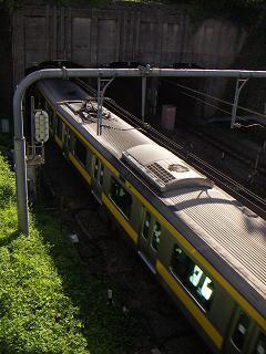 丸ノ内線の四ッ谷駅 E