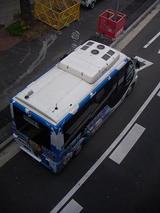真上から見たハマちゃんバス