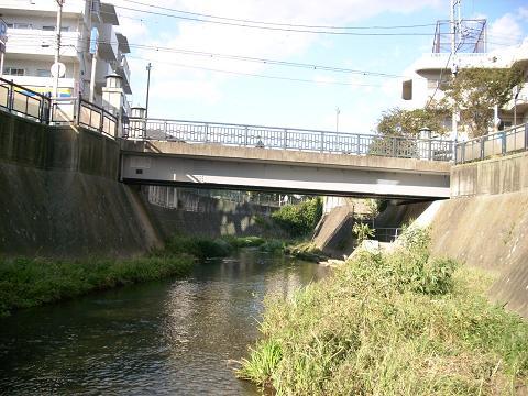 大岡川の大久保橋A