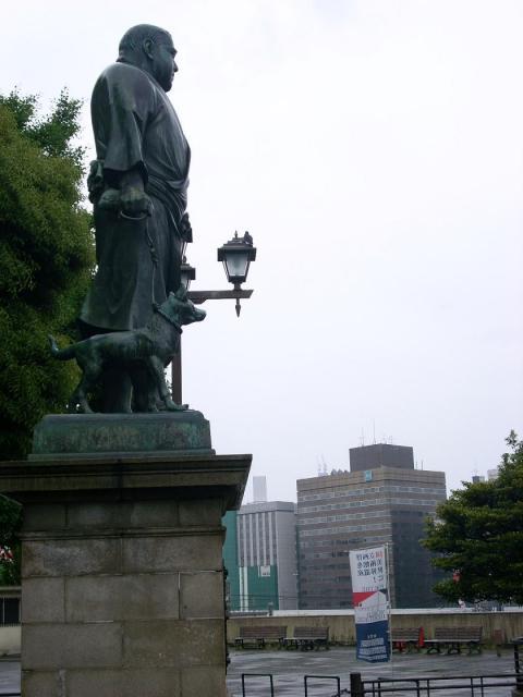 西郷さんと東京スカイツリー