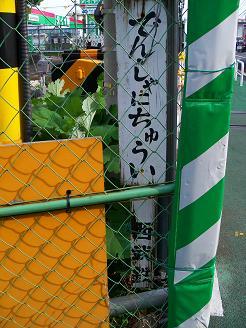 西武拝島線の萩山第3踏切道@小平市H