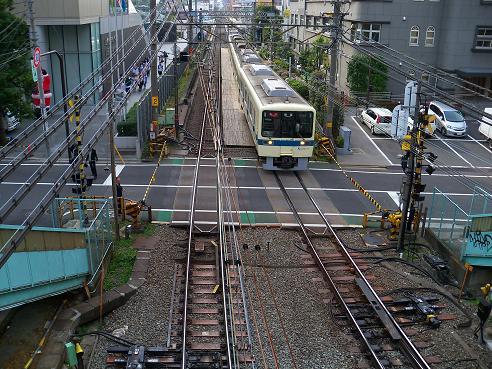 小田急新宿2号踏切A