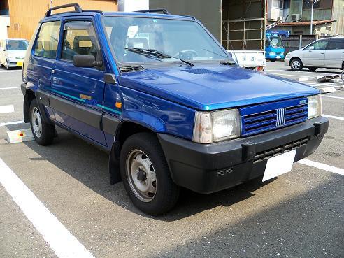 フィアット・パンダ4x4(初代)A