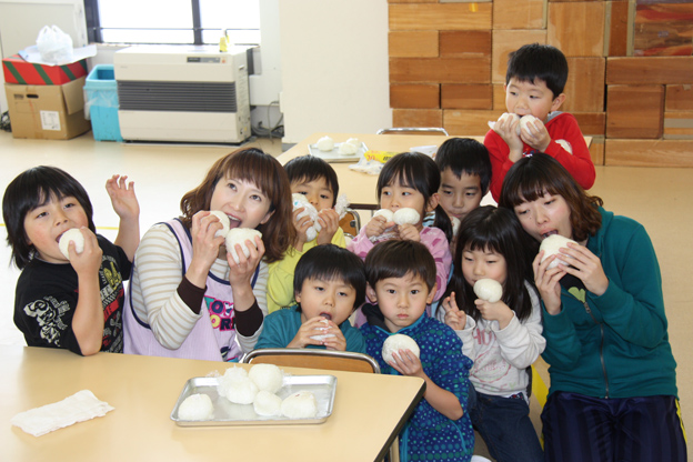 20131129沼田幼稚園で食育活動