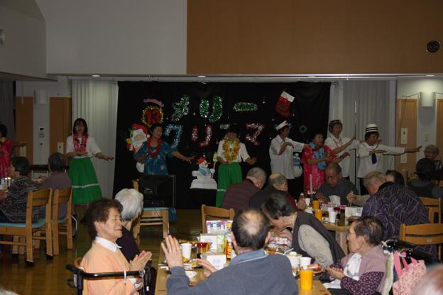 20131220和風園でクリスマスコンサート