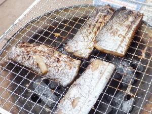日間賀島の太刀魚干物!