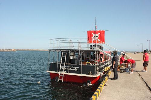 海賊船ダイビングパイレーツ