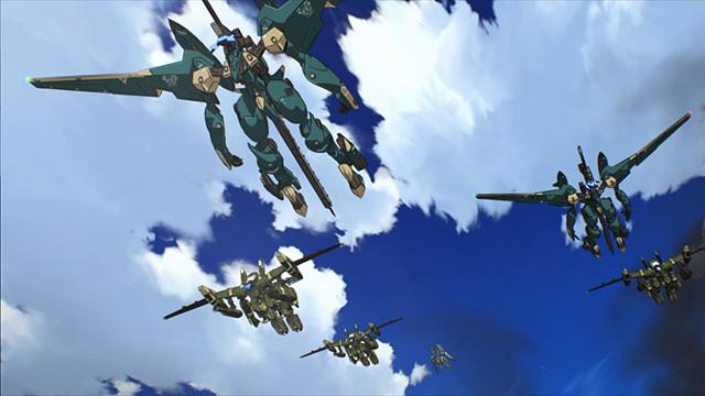 ファフナー EXODUS 01 人類軍機 ペルセウス中隊