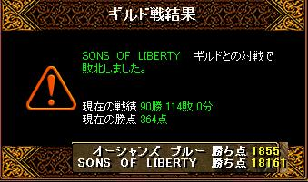 1月31日「SONS OF LIBERTY」